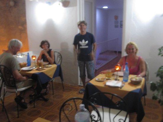 Antico Palmento: Cena su dehor