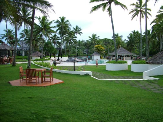 The Pearl Resort: Plenty of spoace for everyone.  Imagine this on a sunny day - superb!