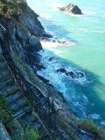 Hotel Porto Roca: What a view.....