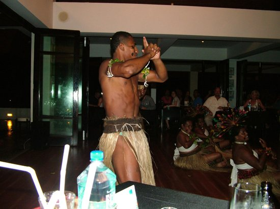 The Pearl Resort: One of the dance performers at the Lovo Feast