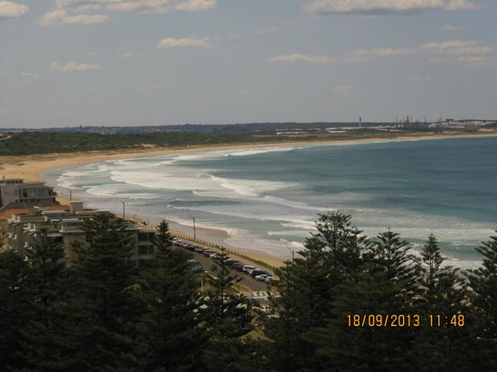view from our balcony on the 10th floor Rydges Cronulla NSW