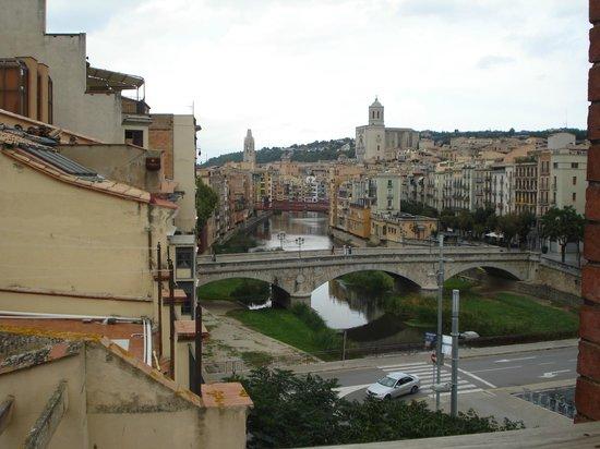 Equity Point Girona Hostel: vista desde o terraço