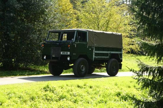 Land Rover Experience - Private Drives: Heritage Drive