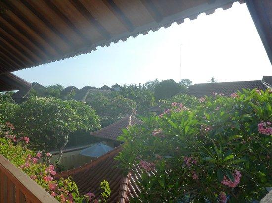 Pondok Ayu: Sitting on the front deck