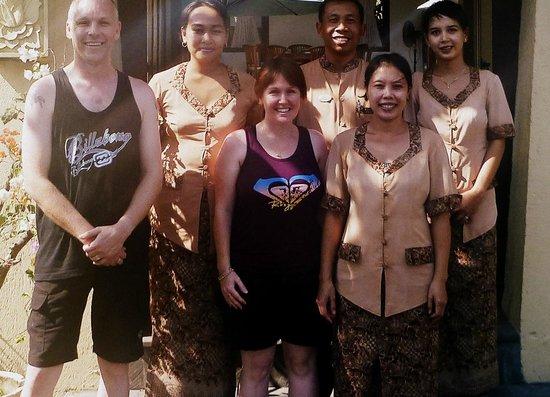Pondok Ayu: Thank you to the wonderful Pondok staff, you are gems!