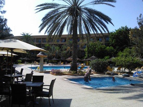Hotel El Ksar: Seconda Piscina