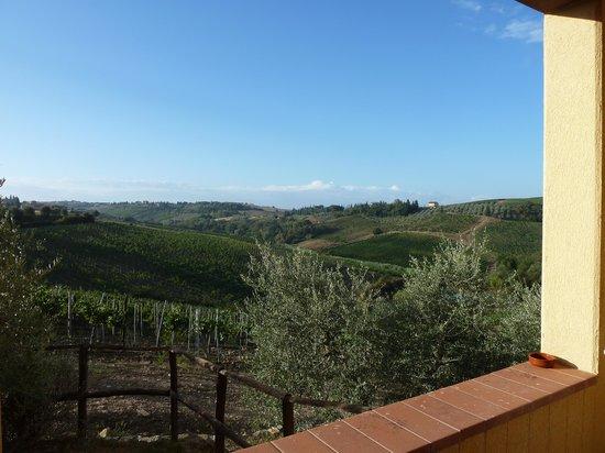 Borgo Filicardo: uitzicht vanaf het terras