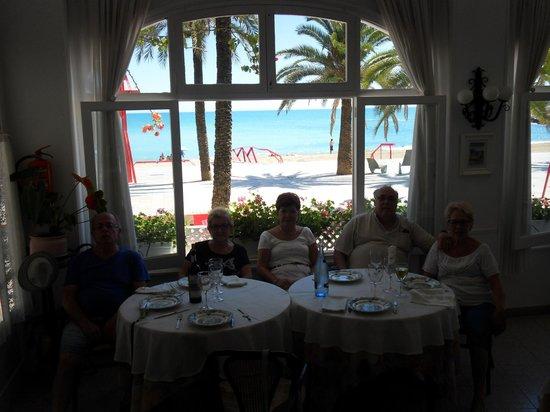 La Cuina: Buenas vistas al mar