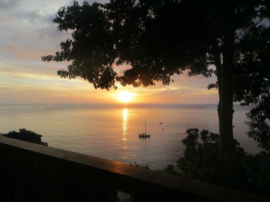 Castara Retreats: View from Retreats Restaurant