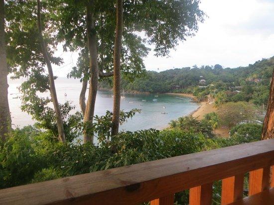 Castara Retreats: View from Restaurant