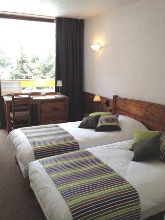 Hotel Plein Sud: twin double sud avec balcon