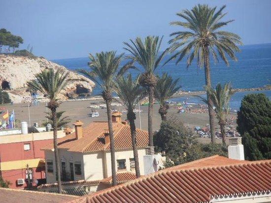 Hotel Maria Cristina: vista desde la terraza del hotel