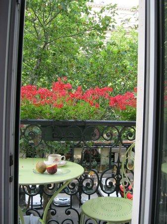 Hotel Britannique: Room balcony