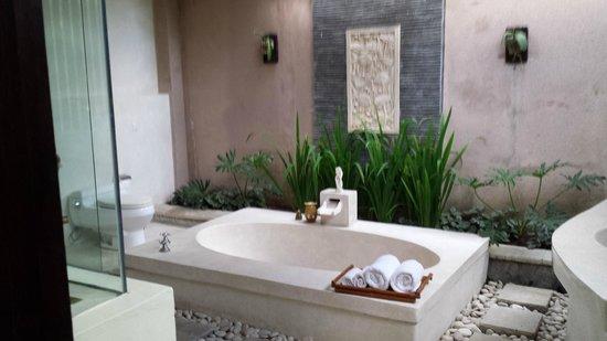 The Bli Bli Villas & Spa: Vasca