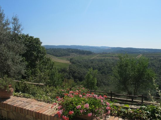Quercia al Poggio: View from the resort