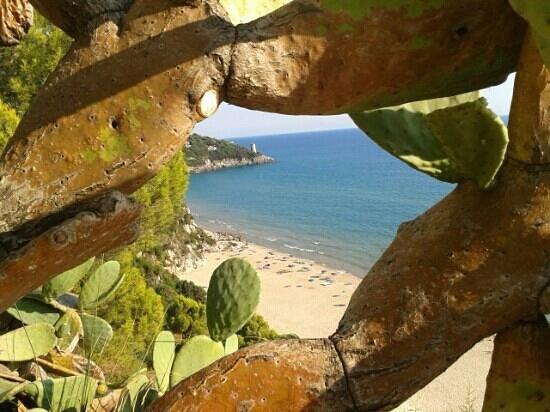 Gaeta, Italia: ultima spiaggia