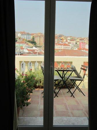 Casa Balthazar: Blick vom Zimmer nach draußen