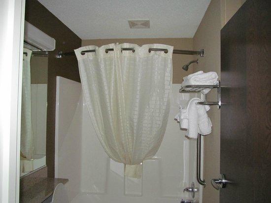 Microtel Inn & Suites by Wyndham Harrisonburg : Shower