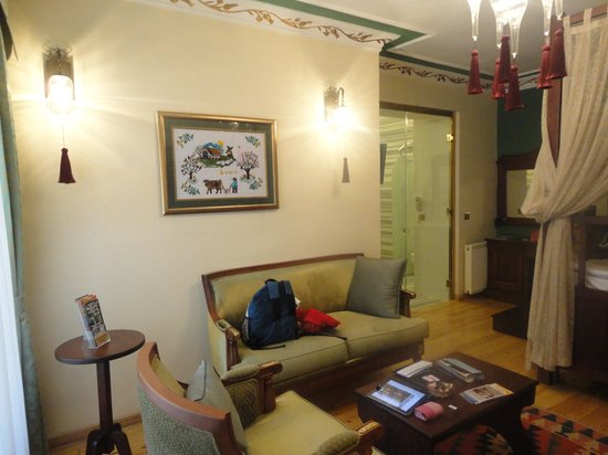 Rose Garden Suites Istanbul: Room in Ottoman style