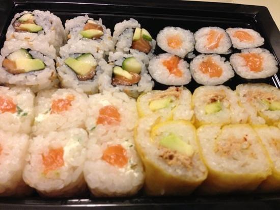 Hoso Sushi : plateau Maki