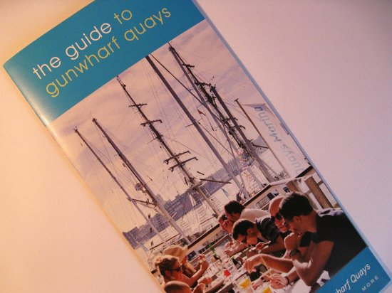 Gunwharf Quays: A most useful free guide.