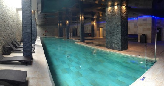 Aparthotel Playa Mar & Spa: Beautiful indoor SPA pool - open to adults and kids for free