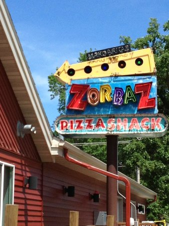 Zorbaz Pizza & Mexican Restaurant: Here it is--Zorbaz