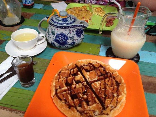 About Cafe' Koh Samui : Waffle & Chocolate
