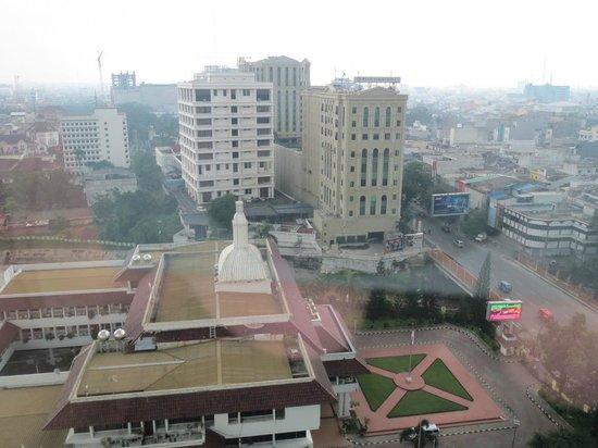 Aryaduta Medan: View from room