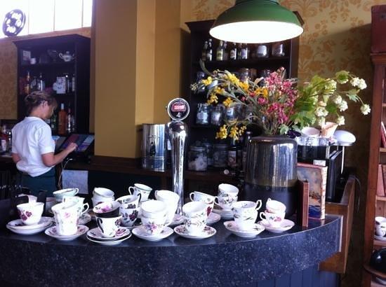 Vintage Tea Room: our fab waitress