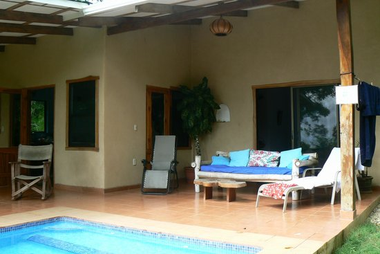 Agua Vista: relax and enjoy the private pool