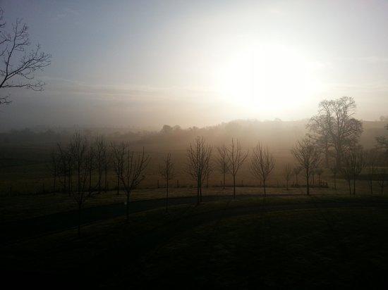 Farnham Estate Spa and Golf Resort : Morning has broken - view from room.