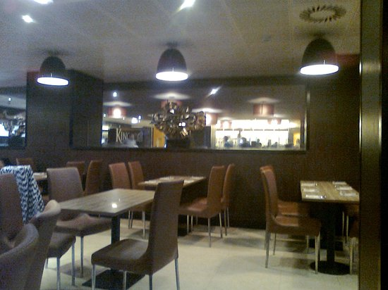 Kingdom World Buffet: Part of the vast dining area