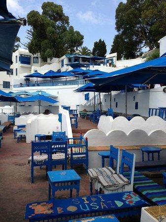 Medina von Tunis: degustamos la bebida tipica (Té verde con menta y piñones)