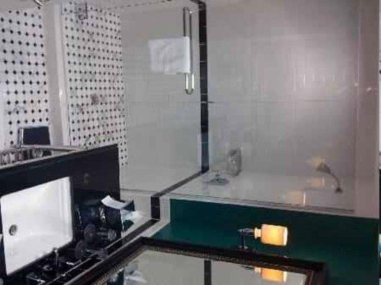 Le Meridien Dallas, The Stoneleigh: Very nice bathroom