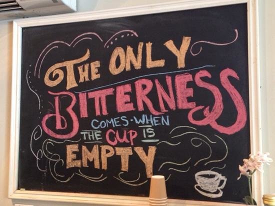 Miss Lily's Cafe: simple wisdom, with humour