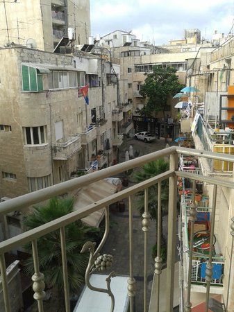 Arthur Hotel Jerusalem - an Atlas Boutique Hotel: View of city center from the window