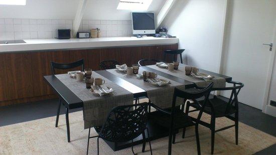 La Remise: Breakfast room