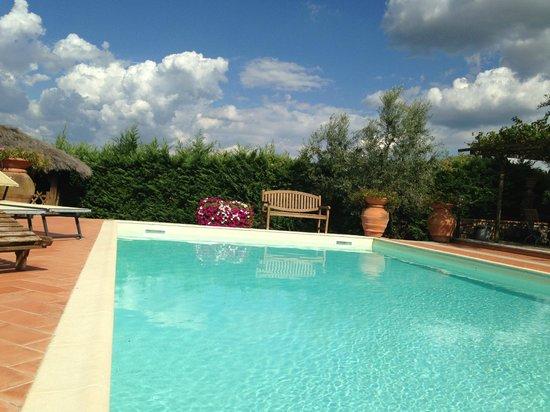 Podere Le Cave: pool at the villa