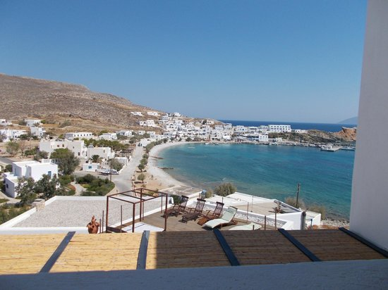 Vrahos Boutique Hotel : View from veranda of Room 27, Vrahos Hotel