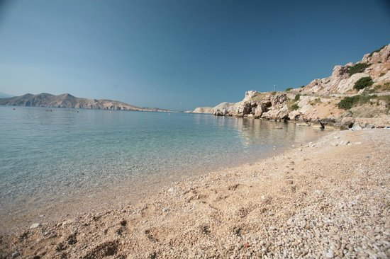 Croatia Bunculuka Beach At Krk Island