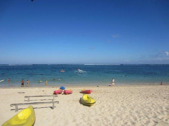 VOUK Hotel & Suites: Private beach