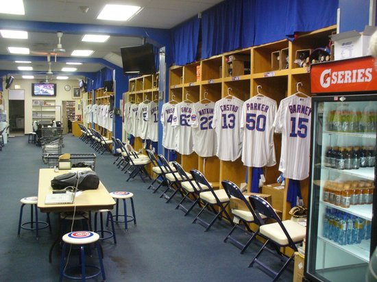Cubs\' Locker Room - Picture of Wrigley Field, Chicago - TripAdvisor
