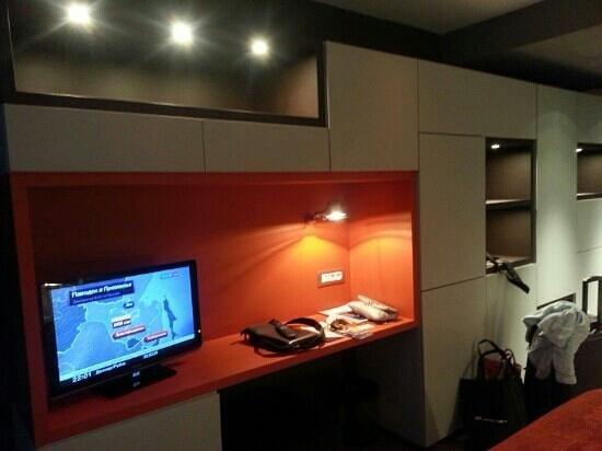 Hotel UNIC Prague: tv set