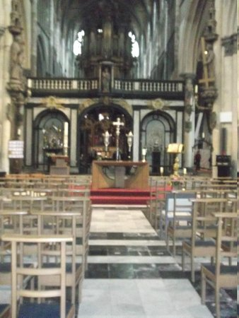 Historic Centre of Brugge: inside the church