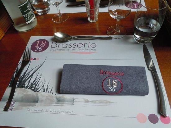"""BRASSERIE LE 18-36 : mise en place """"Brasserie"""""""