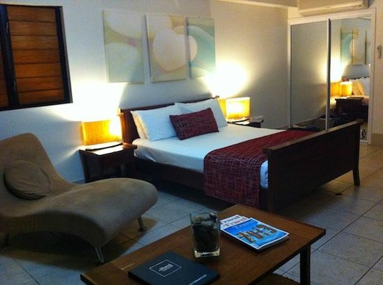 at Waterfront Whitsunday Retreat: Super comfy bed