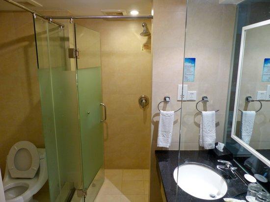Zhouji Hotel: Bathroom