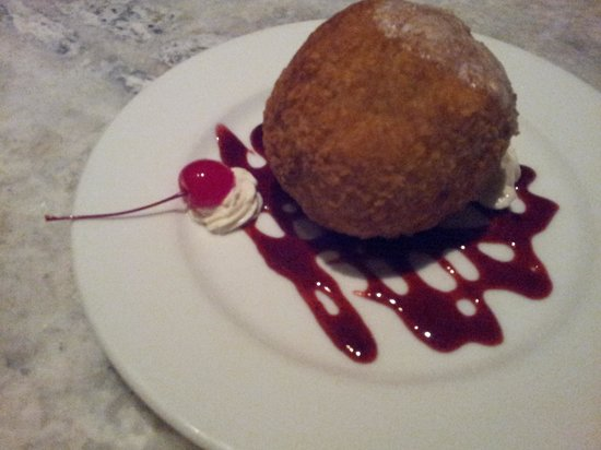 Basil Thai Restaurant: fried icecream