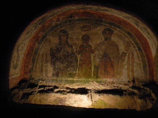 Catacombe di San Gennaro : Affresco